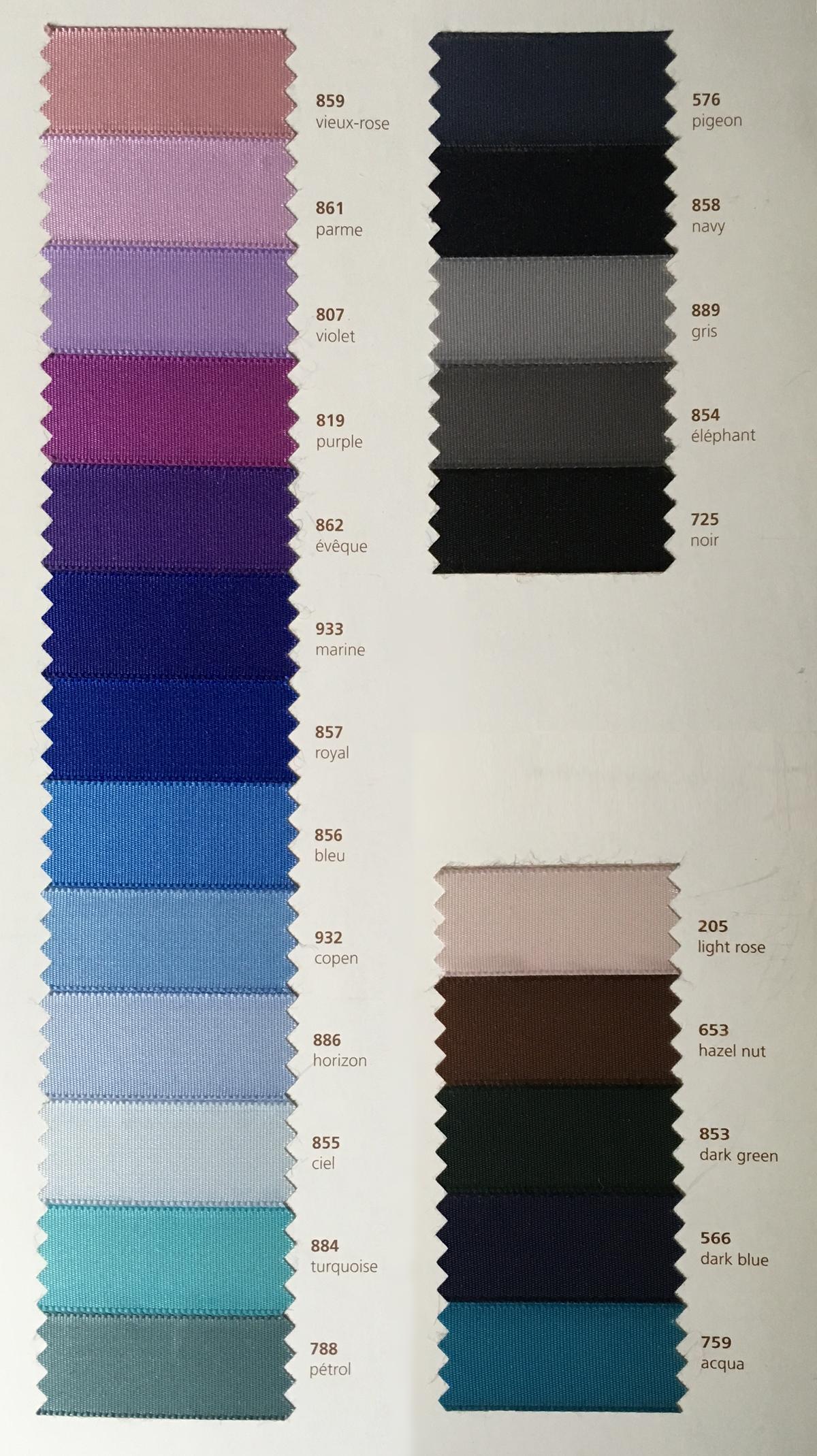 Merino Extrafine 28/2, Farbkarte A101 - A130